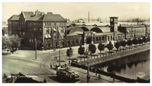 Malmö Centralstation 1936