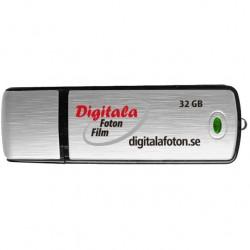 USB med MP4 fil Video