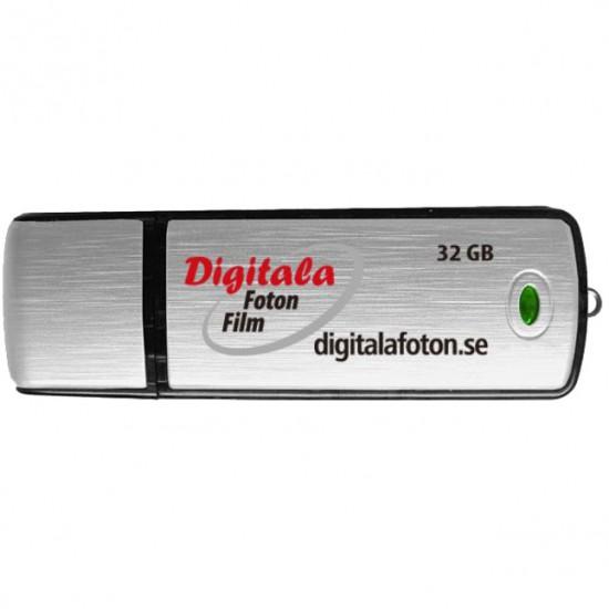 USB med JPEG filer Minneskort