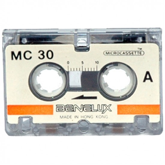 Diktafonband Microcassette Digitalisering