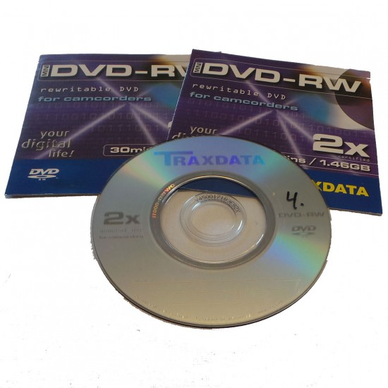 Videoskiva Mini DVD Digitalisering