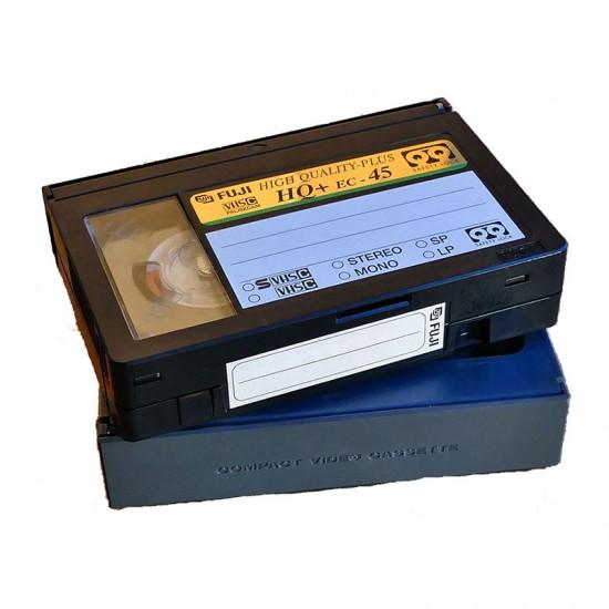 Videoband VHS-C Digitalisering