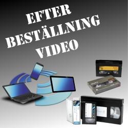 Efterbeställning Video från Backup
