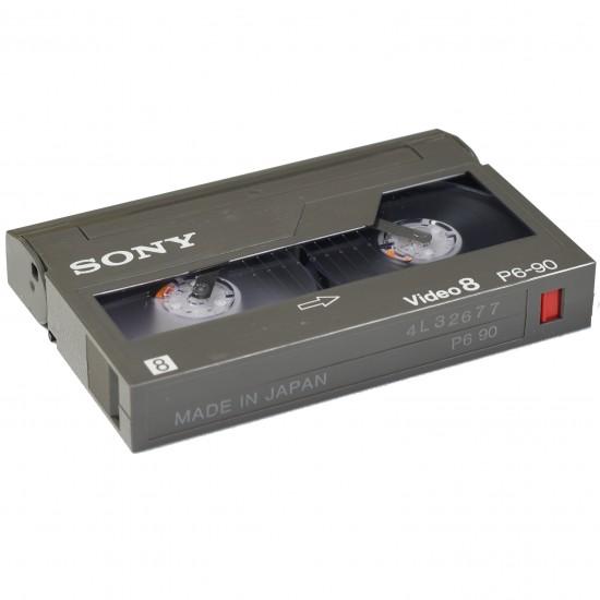 Videoband Video 8 / Hi8 / Digital8 Digitalisering